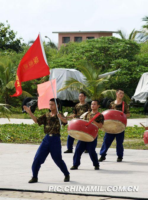 组图:中国西沙守军战备忙 随时打击侵略者